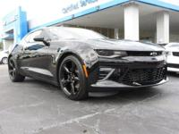 Come see this 2018 Chevrolet Camaro SS. Its Automatic