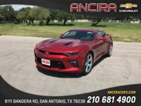 This new Chevrolet Camaro 2SS is now for sale in San