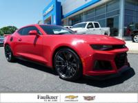 We are HONORED to provide this ZL1 !!Chevrolet