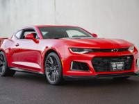 2018 Chevrolet Camaro ZL1 Coming Soon! One Owner! Call