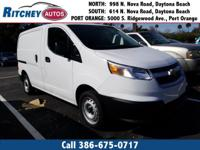 CERTIFIED PRE OWNED 2018 CHEVY CITY EXPRESS CARGO VAN