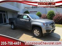 New Price! This 2018 Chevrolet Colorado Work Truck in