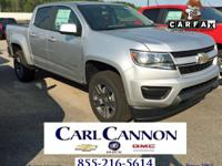 Silver Ice Metallic 2018 Chevrolet Colorado Work Truck