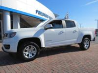 2018 Chevrolet Colorado LT 4WD White 8-Speed Automatic