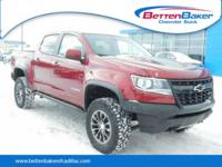 Red Tintcoat 2018 Chevrolet Colorado ZR2 4WD 8-Speed