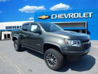 $2,209 off MSRP! 2018 Chevrolet Colorado ZR2 Green