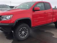 Red 2018 Chevrolet Colorado ZR2 4WD 8-Speed Automatic