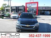 2018 CHEVROLET COLORADO CREW CAB LT ** HALO CERTIFIED-