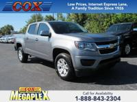 New Price! This 2018 Chevrolet Colorado LT in Satin