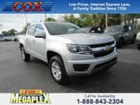 This 2018 Chevrolet Colorado LT in Silver is well