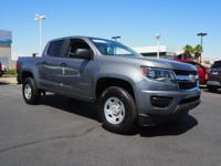 Come see this 2018 Chevrolet Colorado 2WD Work Truck.