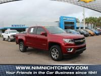 New Price! Red Tintcoat 2018 Chevrolet Colorado Z71 RWD
