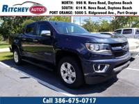 CERTIFIED PRE OWNED 2018 CHEVY COLORADO Z71 2WD CREW