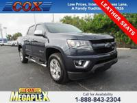 This 2018 Chevrolet Colorado Z71 in Centennial Blue