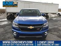 Safe and reliable, this 2018 Chevrolet Colorado 4WD Z71