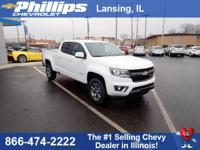 Summit+White+2018+Chevrolet+Colorado+Z71+4WD+8-Speed+Au