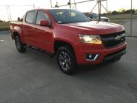 Recent Arrival! Chevrolet Colorado Z71 Red Hot 4WD