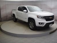 Recent Arrival! Summit White 2018 Chevrolet Colorado 4D