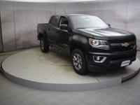 Recent Arrival! Black 2018 Chevrolet Colorado 4D Crew
