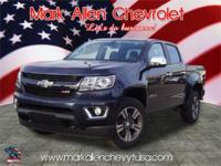 Blue Metallic 2018 Chevrolet Colorado Z71 4WD 8-Speed