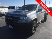 Certified. CERTIFIED PRE-OWNED, Colorado ZR2, 4D Crew