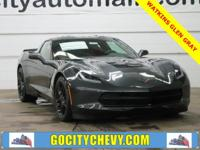New Price! 2018 Chevrolet Corvette Watkins Glen Gray