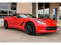 1-Owner, 2018 Chevrolet Corvette 2LT Coupe. This