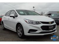 CARFAX One-Owner. Clean CARFAX. White 2018 Chevrolet