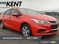 Red Hot 2018 Chevrolet Cruze LS FWD 6-Speed Automatic