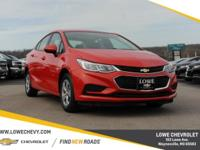 Priced below KBB Fair Purchase Price! Brand New Cruze
