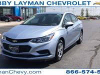 New Price! Cruze LS, 4D Sedan, 1.4L 4-Cylinder Turbo