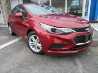 The new 2018 Chevrolet Cruze in Forest City, PA gives