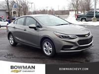 * 2018 Chevrolet Cruze LT...Features include: