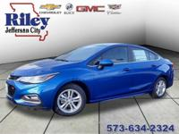 Riley Red Tag Sale! Blue Metallic 2018 Chevrolet Cruze