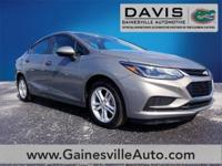 Certified. Pepperdust Metallic 2018 Chevrolet Cruze LT
