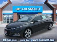 2018 Chevrolet Cruze Premier Nightfall Gray Metallic,