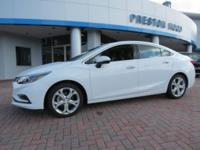 2018 Chevrolet Cruze Premier FWD White 6-Speed