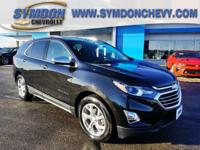 New Price! 2018 Chevrolet EquinoxPremier Mosaic Black