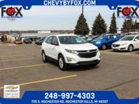 New Price! 2018 Chevrolet Certified. Equinox Summit