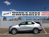 $1,750 off MSRP! 2018 Chevrolet Equinox LS FWD 6-Speed