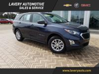 2018 Chevrolet Equinox LS in Storm Blue Metallic,