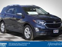 Blue Metallic 2018 Chevrolet Equinox LT 2LT FWD 9-Speed