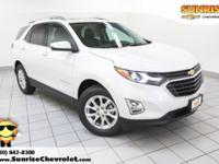 Recent Arrival! New Price! 2018 Chevrolet Equinox Pearl