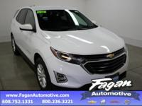 Recent Arrival! Summit White 2018 Chevrolet Equinox LT