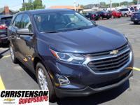 2018+Chevrolet+Equinox+LS+In+Blue.+Turbocharged%21+Gaso
