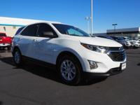 Come see this 2018 Chevrolet Equinox LS. Its Automatic