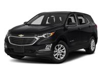 2018 Chevrolet Equinox LT AWD. 30/24 Highway/City MPG