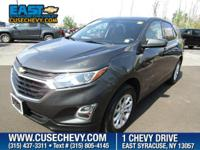 Look at this 2018 Chevrolet Equinox LT. Its Automatic