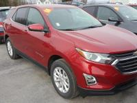 Red 2018 Chevrolet Equinox LT 1LT AWD 6-Speed Automatic
