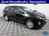 One Owner AWD, Dual Moonroofs, 8-Way Power Driver Seat